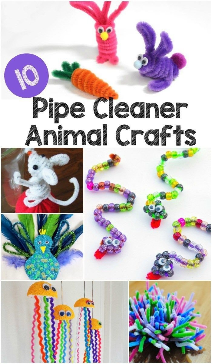 10 Cute How To Ideas For Kids 341 best pipe cleaner crafts for kids to make images on pinterest 2 2020