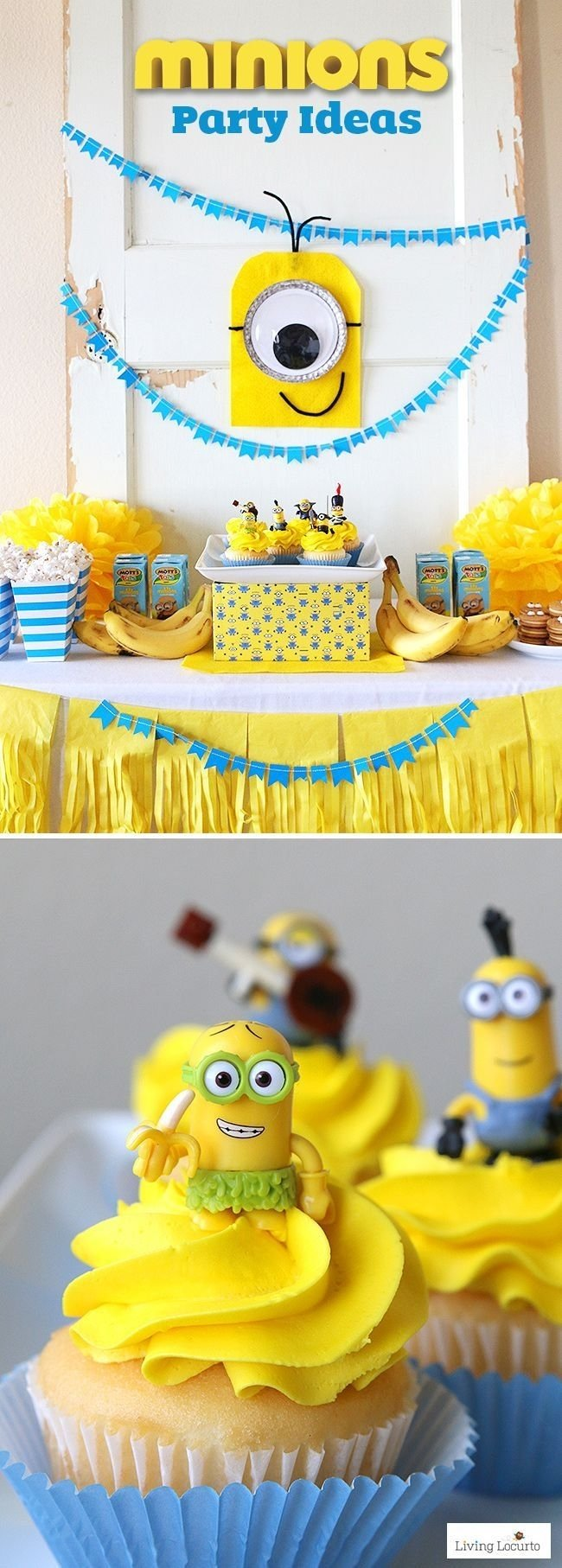 10 Perfect Despicable Me Birthday Party Ideas