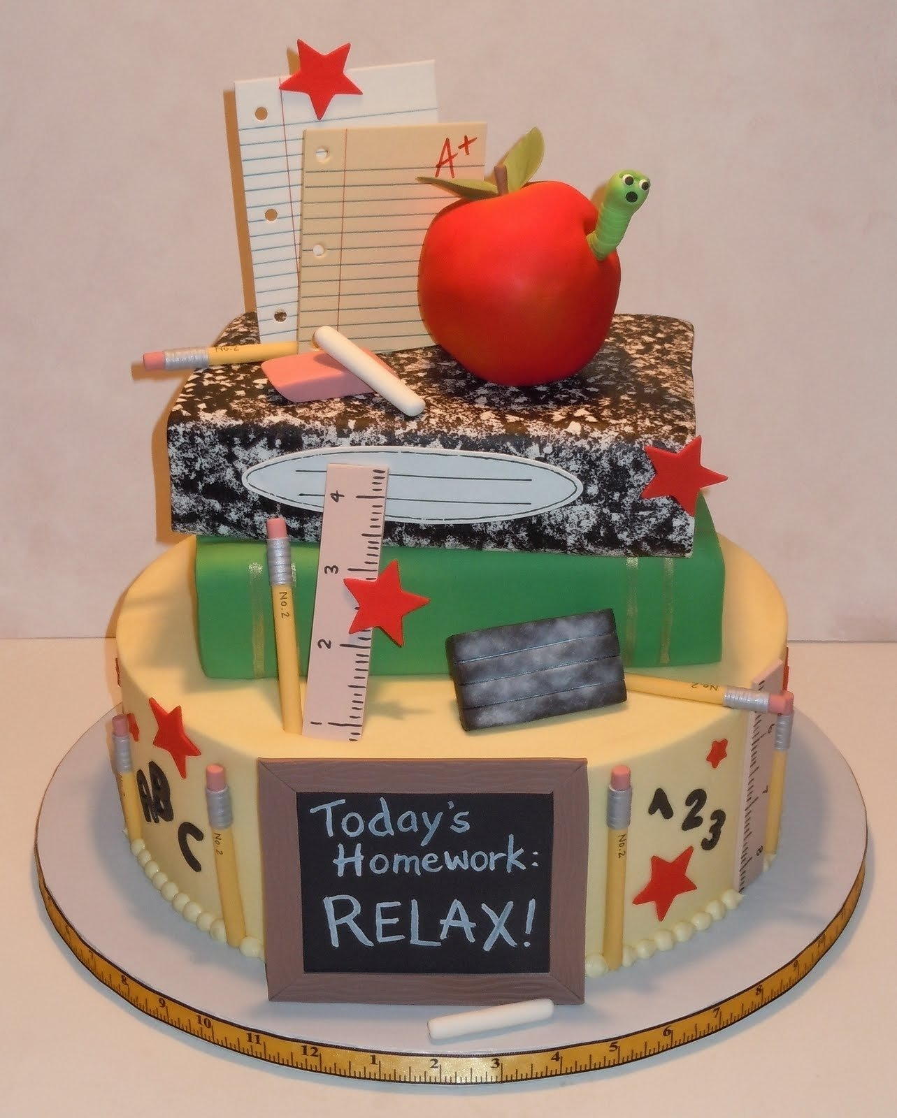 10 Best Back To School Cake Ideas 35 back to school treats something swanky for birthday cake ideas
