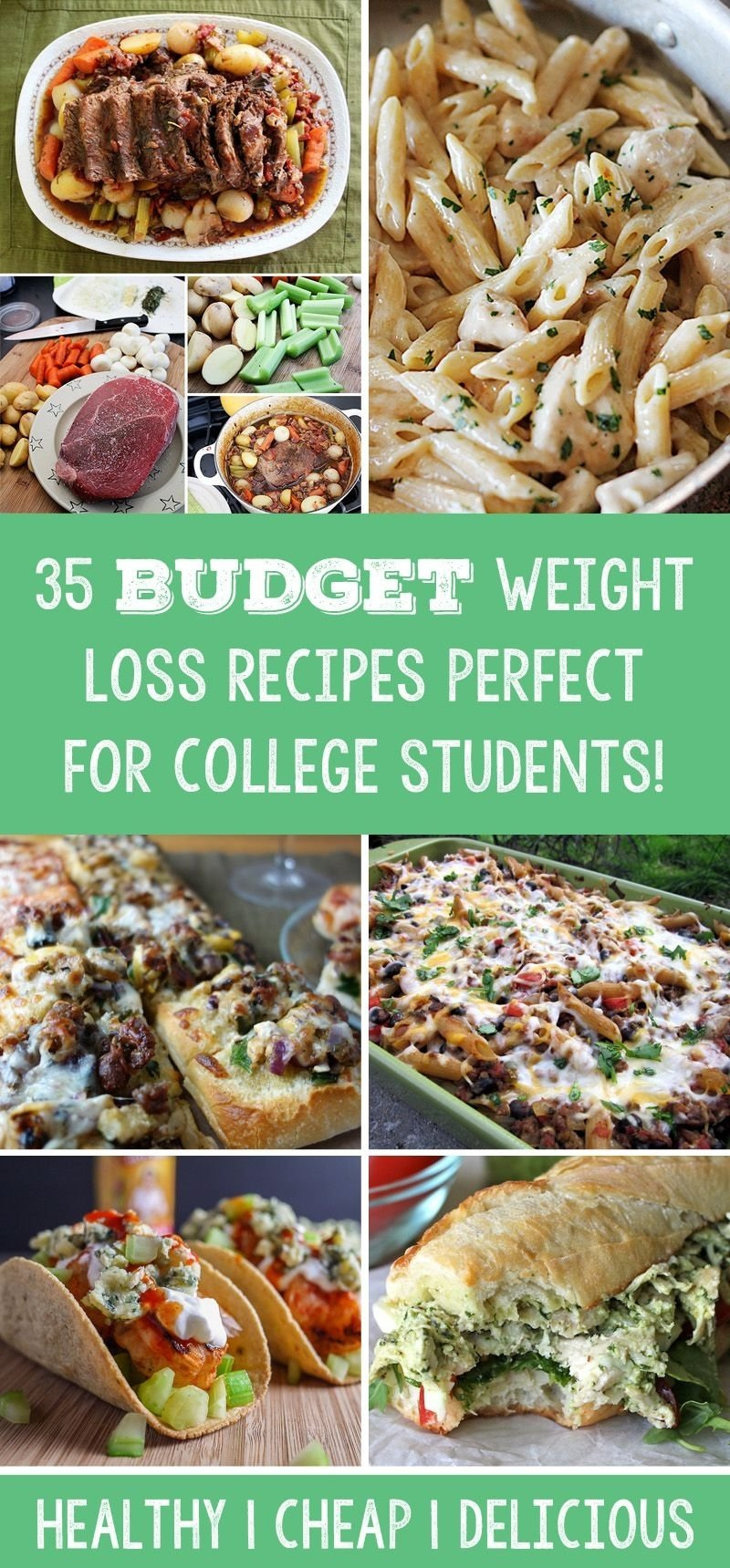 10 Lovable Meal Ideas For College Students 35 budget weight loss recipes perfect for college students 2020