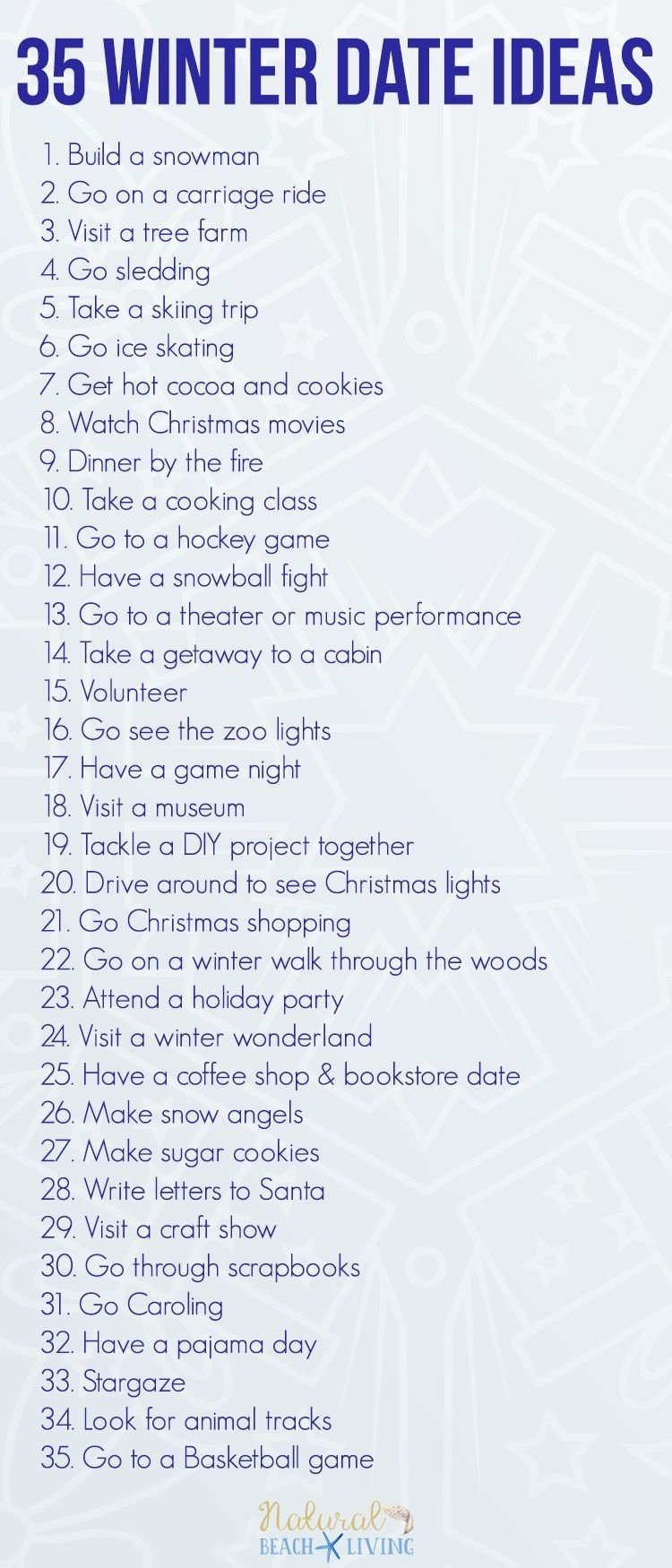 10 Elegant Fun Ideas For A Date 35 fun winter date ideas you can do on a budget teenage couples 7 2020