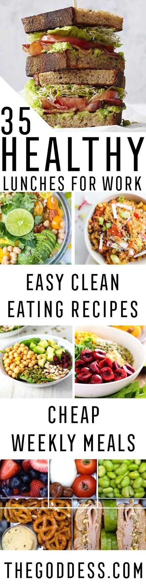 10 Attractive Cheap Lunch Ideas For Work 35 healthy lunches for work clean eating lunches and easy 2020