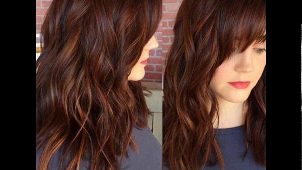 10 Lovely Hair Color And Highlights Ideas