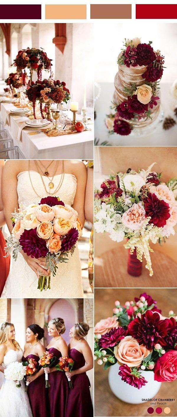10 Stylish Vintage Wedding Ideas For Fall 35 inspiring burgundy and peach wedding ideas for 2017 peach 2020