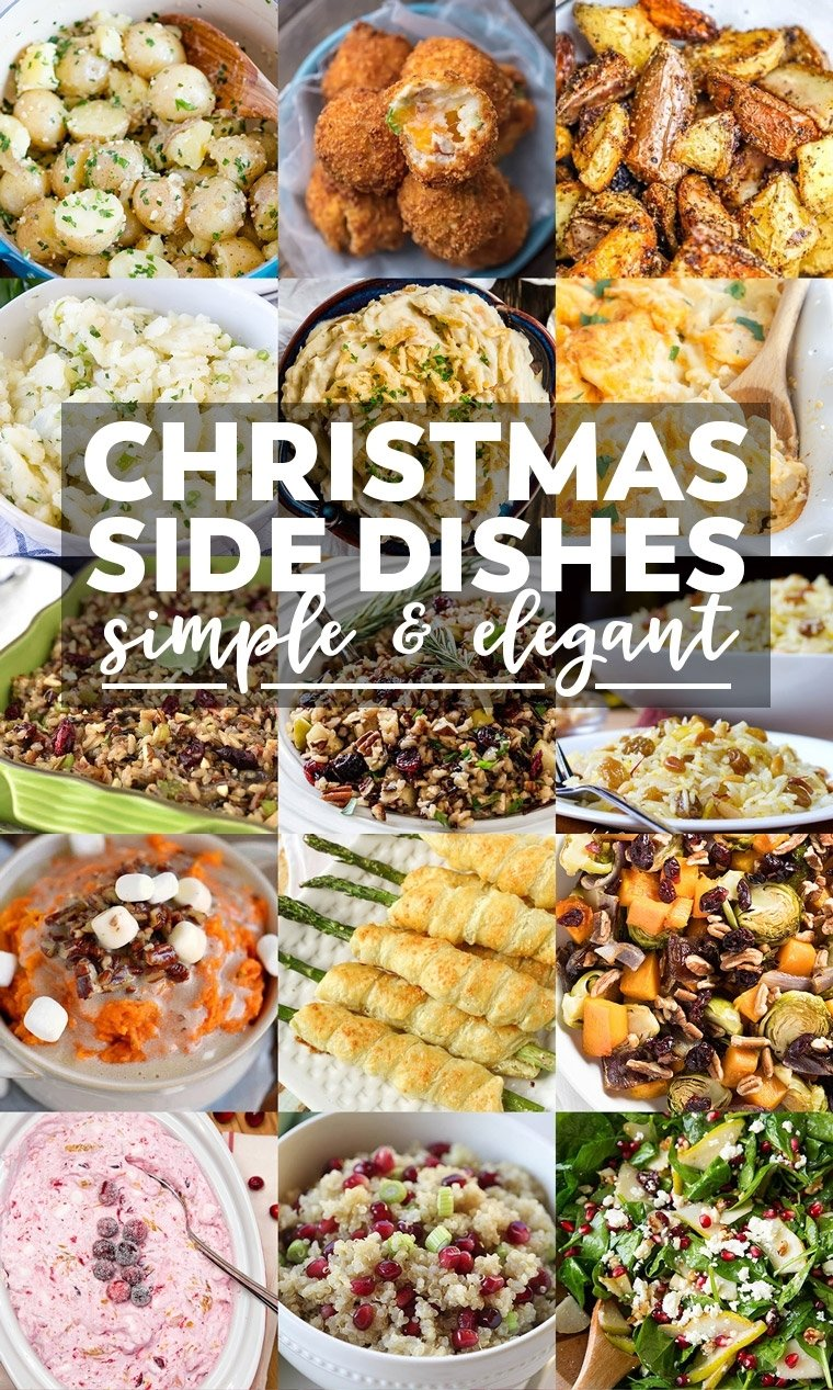 10 Awesome Christmas Ham Dinner Menu Ideas 35 side dishes for christmas dinner yellow bliss road 2 2021