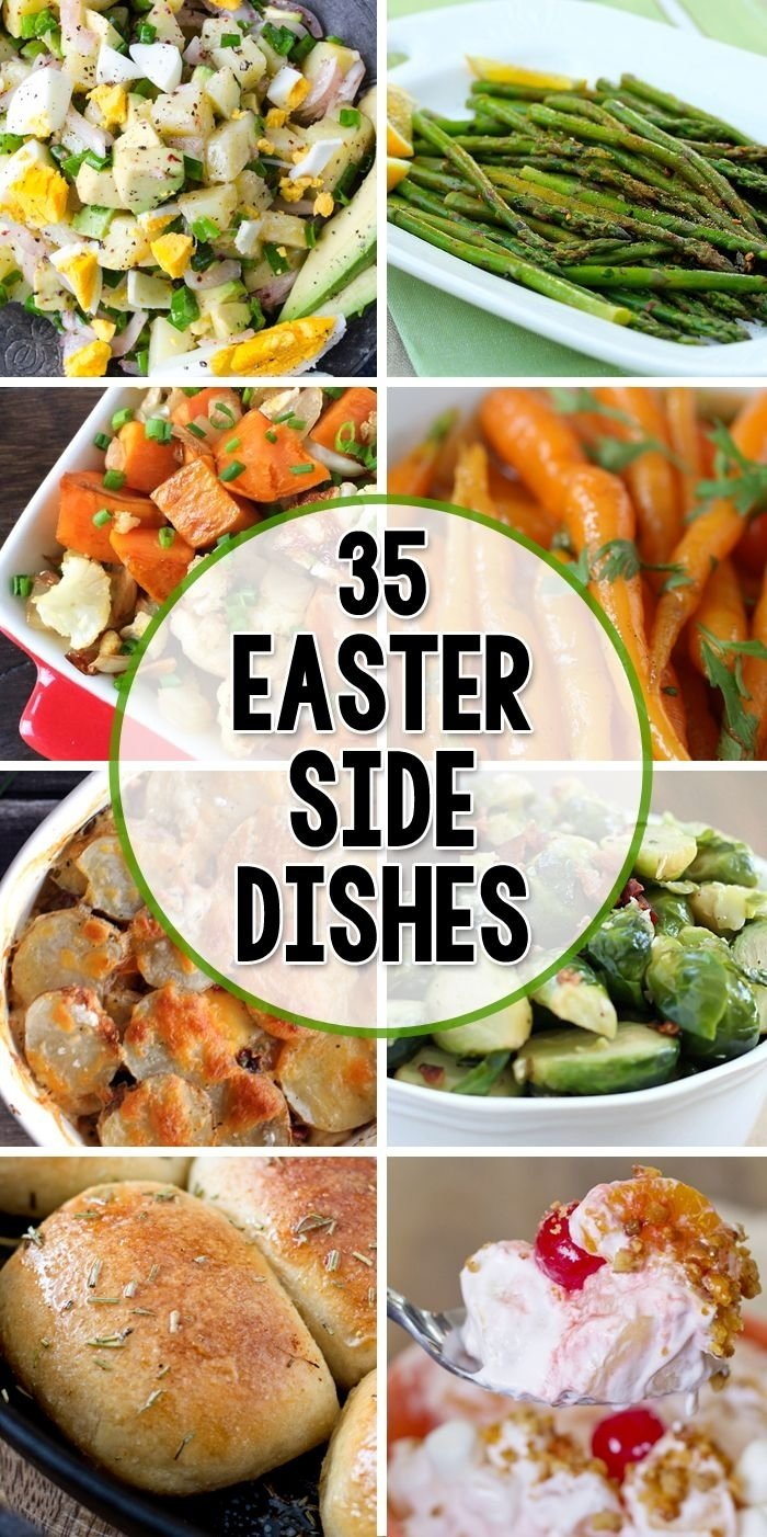 35 side dishes for easter | easter, dishes and holidays
