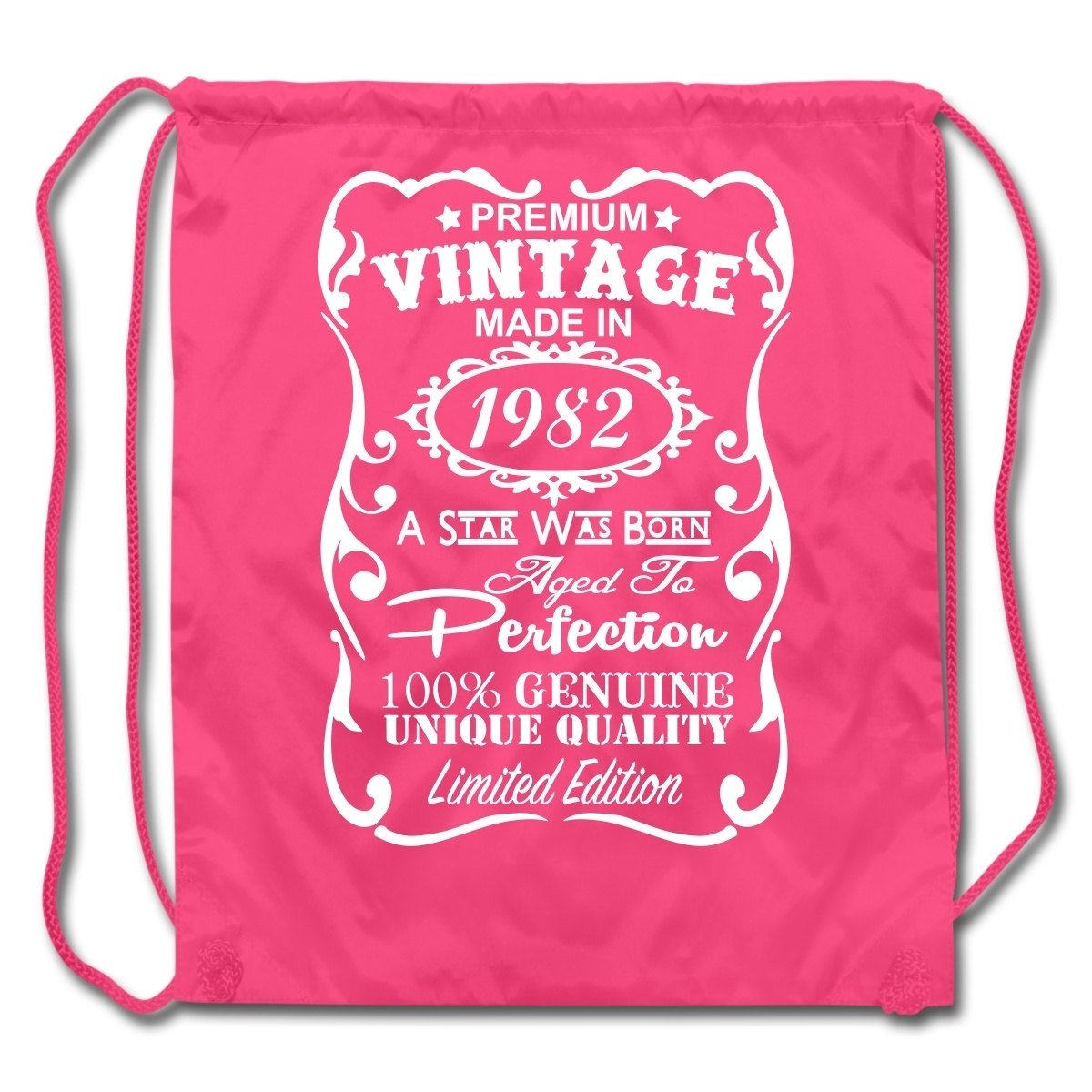 10 Unique 35Th Birthday Gift Ideas For Her 35th birthday gift ideas unique drawstring backpack made in 1982 2020