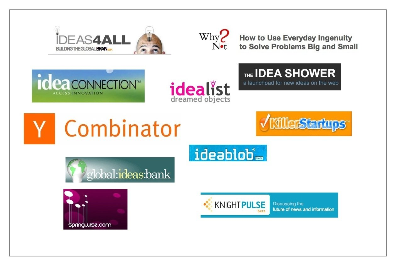10 Stylish Startup Ideas We D Like To Fund 36 awesome idea hubs to spark creative thinking innovation