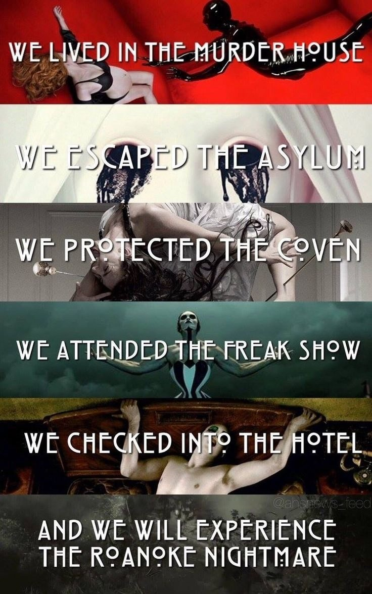 10 Spectacular Ideas For A Horror Story 36 best american horror story images on pinterest horror american 2020