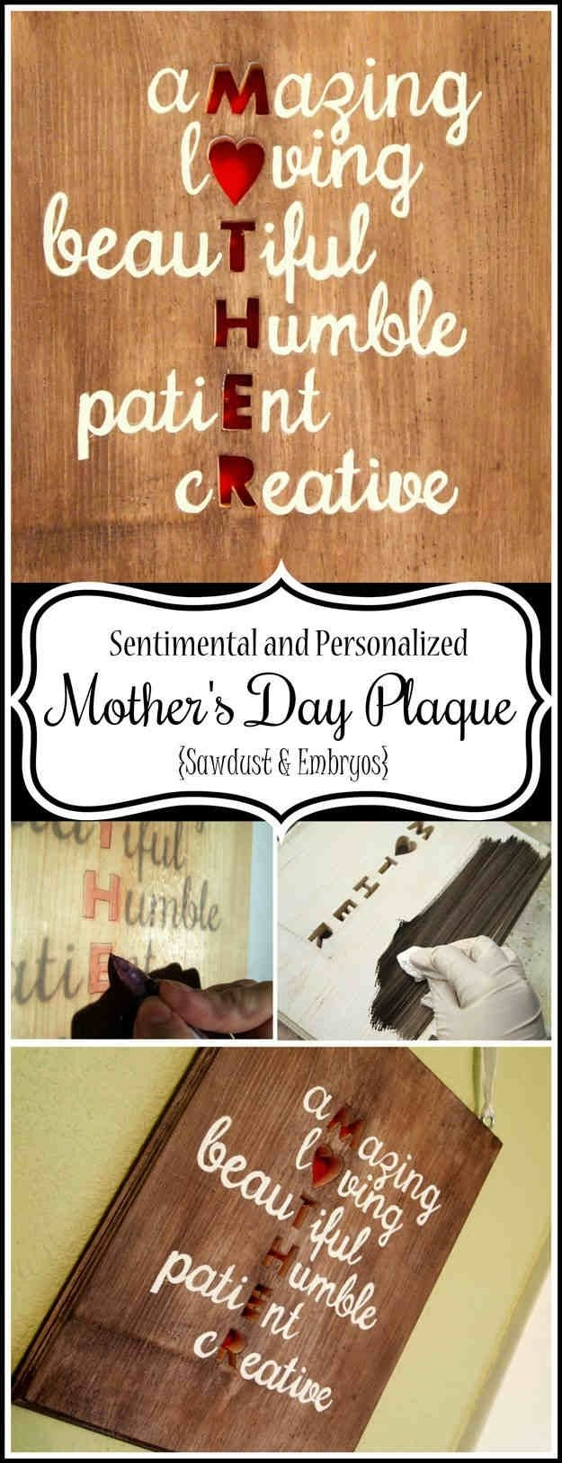 10 Fabulous Creative Homemade Mothers Day Gift Ideas 36 homemade mothers day gifts and ideas diy projects 2 2020