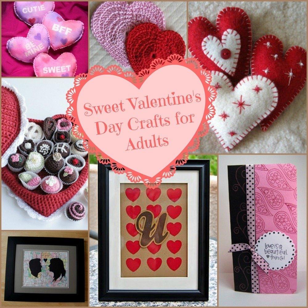 36 valentine crafts for adults | valentine crafts, crafts and crafty
