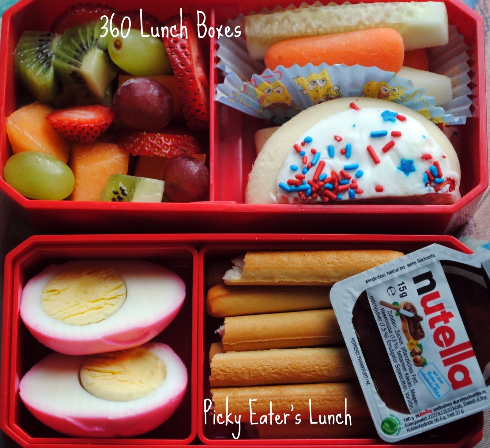 10 Cute Lunch Box Ideas For Picky Eaters 360 lunch boxes kids lunches for tuesday august 17th