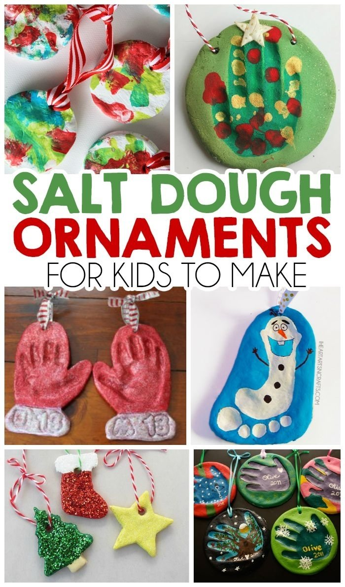 10 Ideal Christmas Ideas For Kids To Make 363 best handmade ornaments for kids images on pinterest merry 5