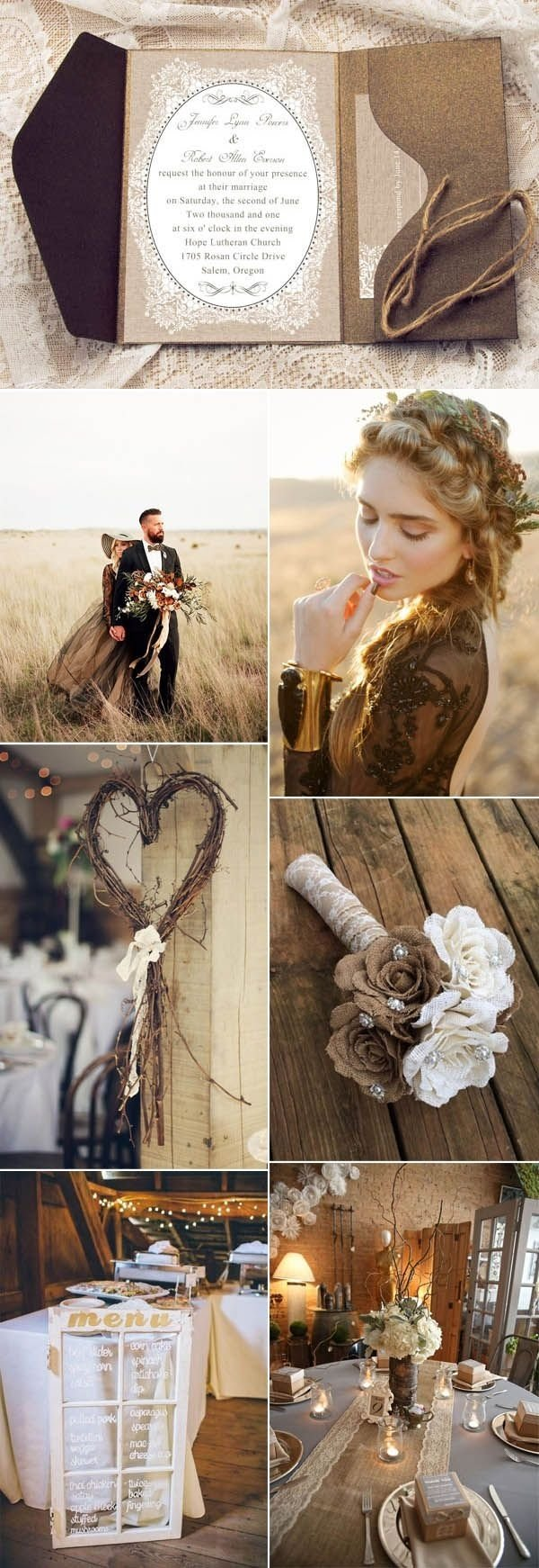 10 Stylish Vintage Wedding Ideas For Fall 368 best fall wedding ideas images on pinterest dream wedding 2020