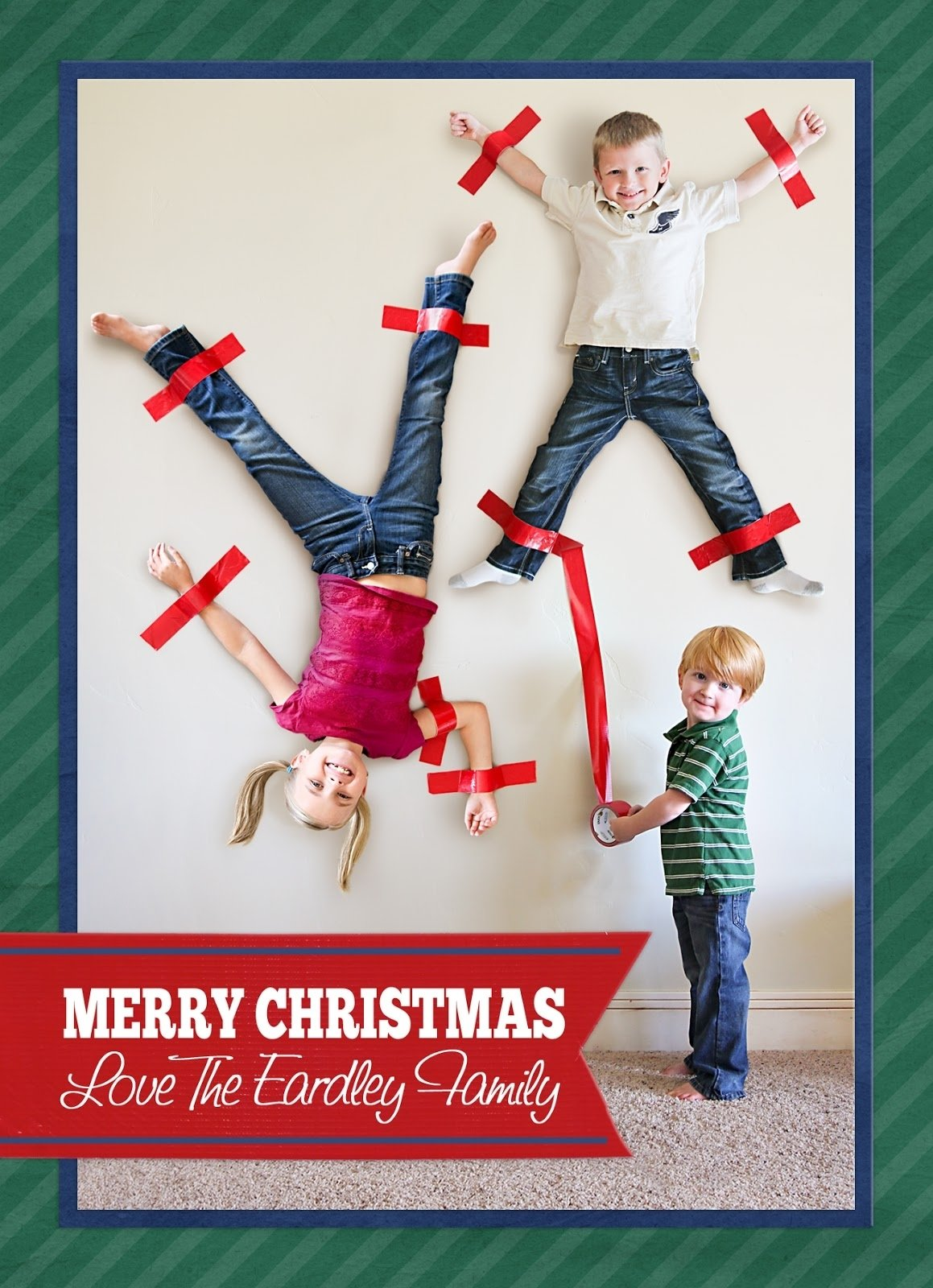 10 Cute Christmas Card Photo Ideas For Kids 37 awesome christmas card ideas you should steal scrapbook blog 1 2020