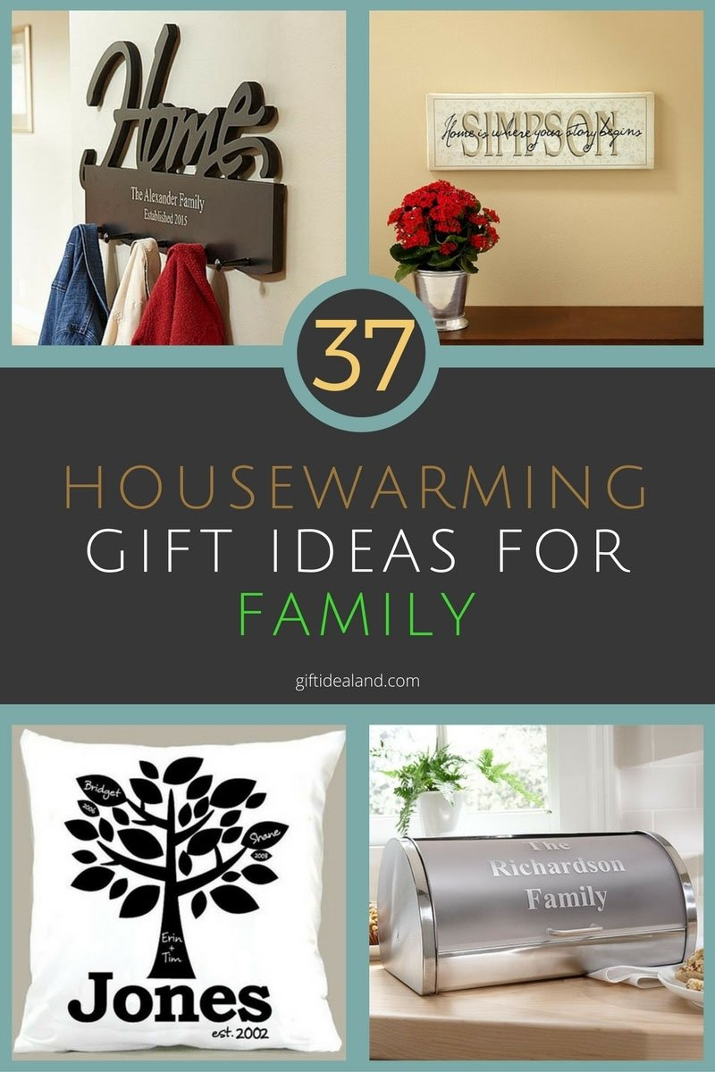 37 great housewarming gift ideas for family