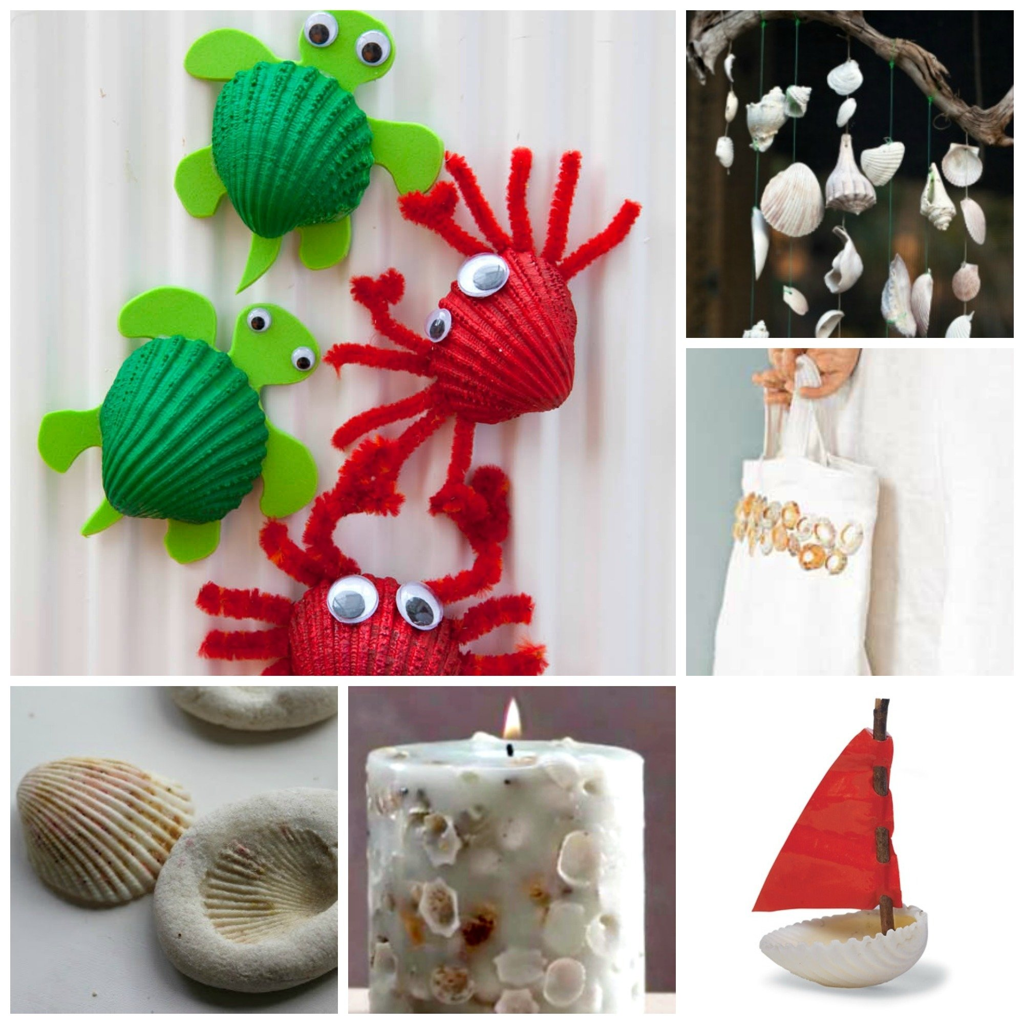10 Best Easy Craft Ideas For Adults 37 sea shell craft ideas red ted arts blog 2020