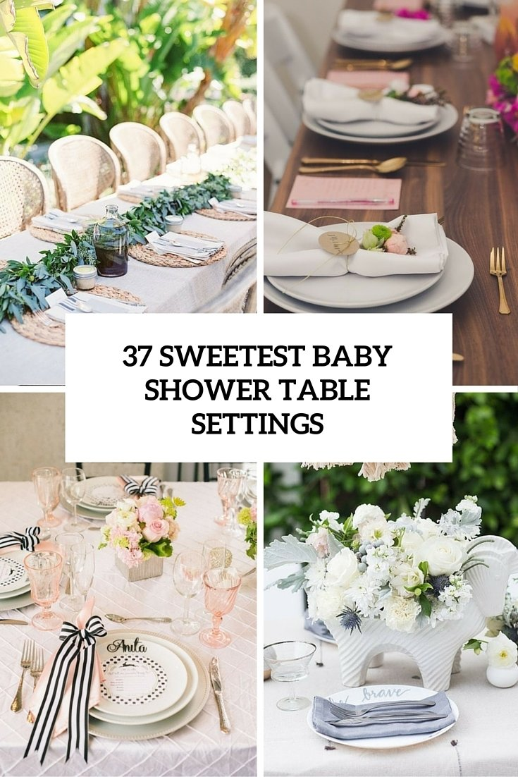 37 sweetest baby shower table settings to get inspired - digsdigs