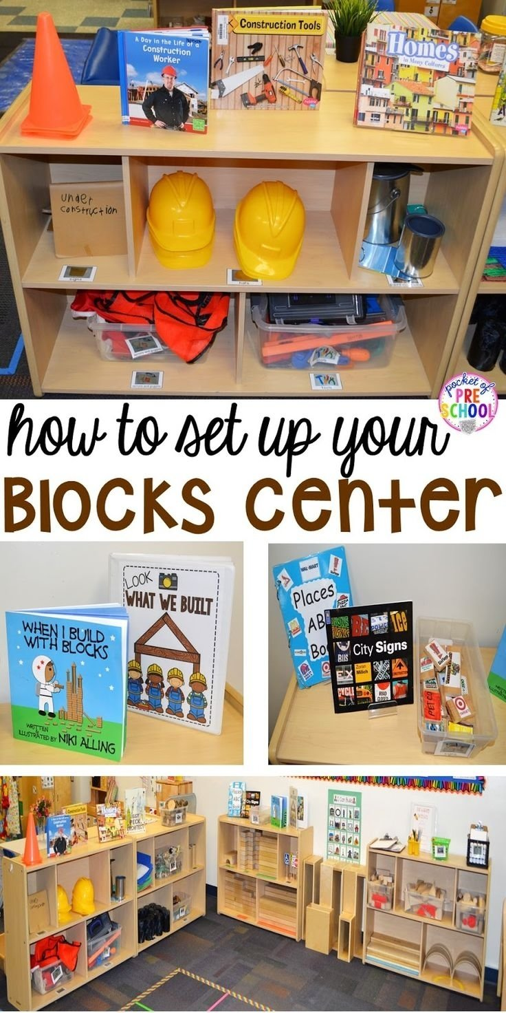 10 Gorgeous Science Center Ideas For Preschool 38 best block center pre k preschool images on pinterest block 2020