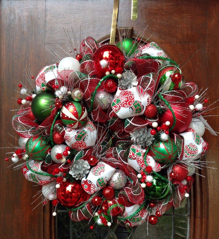 10 Lovely Christmas Deco Mesh Wreath Ideas 38 fall deco mesh wreath ideas from pelin horan loveitsomuch 2020