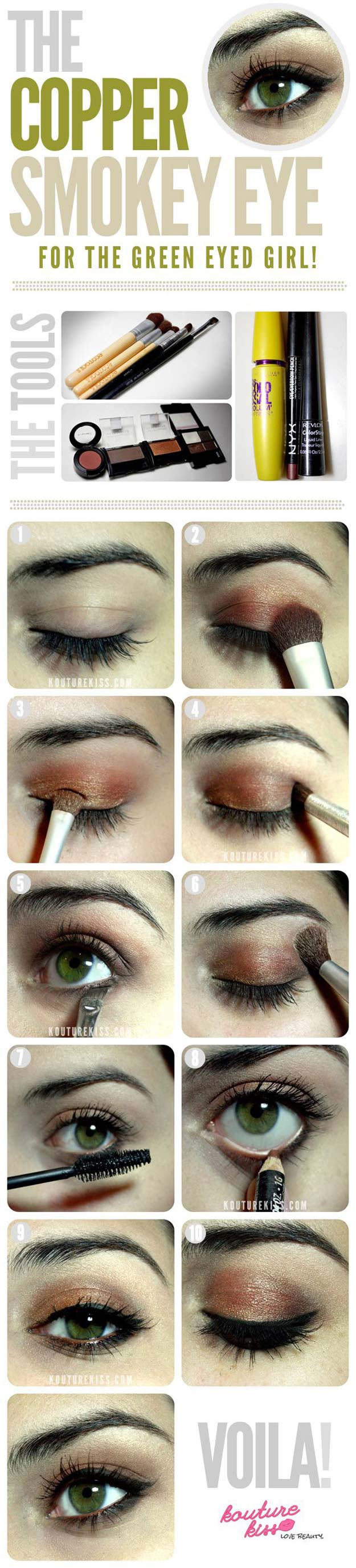10 Lovable Prom Makeup Ideas For Hazel Eyes 38 makeup ideas for prom the goddess 1