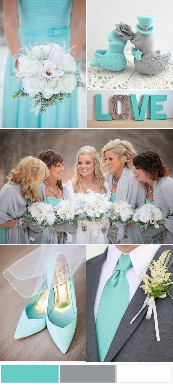 10 Attractive Tiffany Blue Wedding Theme Ideas 381 best wedding color ideas images on pinterest scheme of tiffany 2020