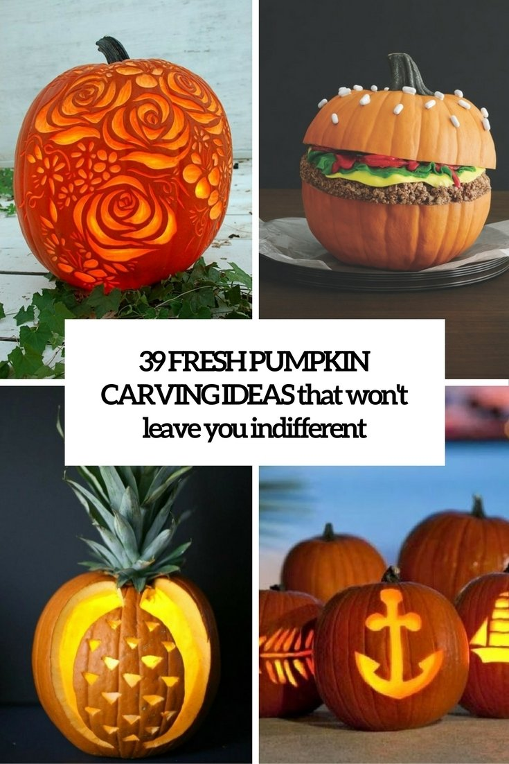 10 Stylish Pumpkin Carving Ideas For Couples 39 fresh pumpkin carving ideas that wont leave you indifferent 4