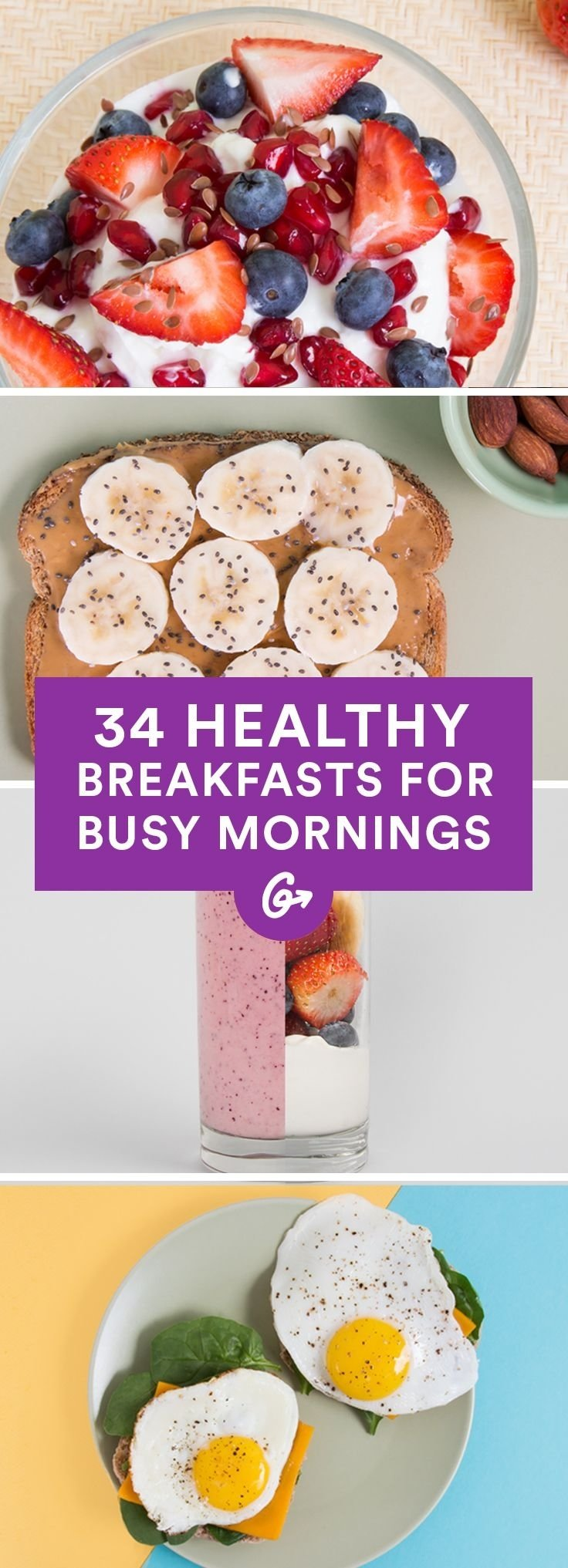 10 Attractive Quick And Easy Breakfast Ideas 39 healthy breakfasts for busy mornings healthy breakfasts 2 2020