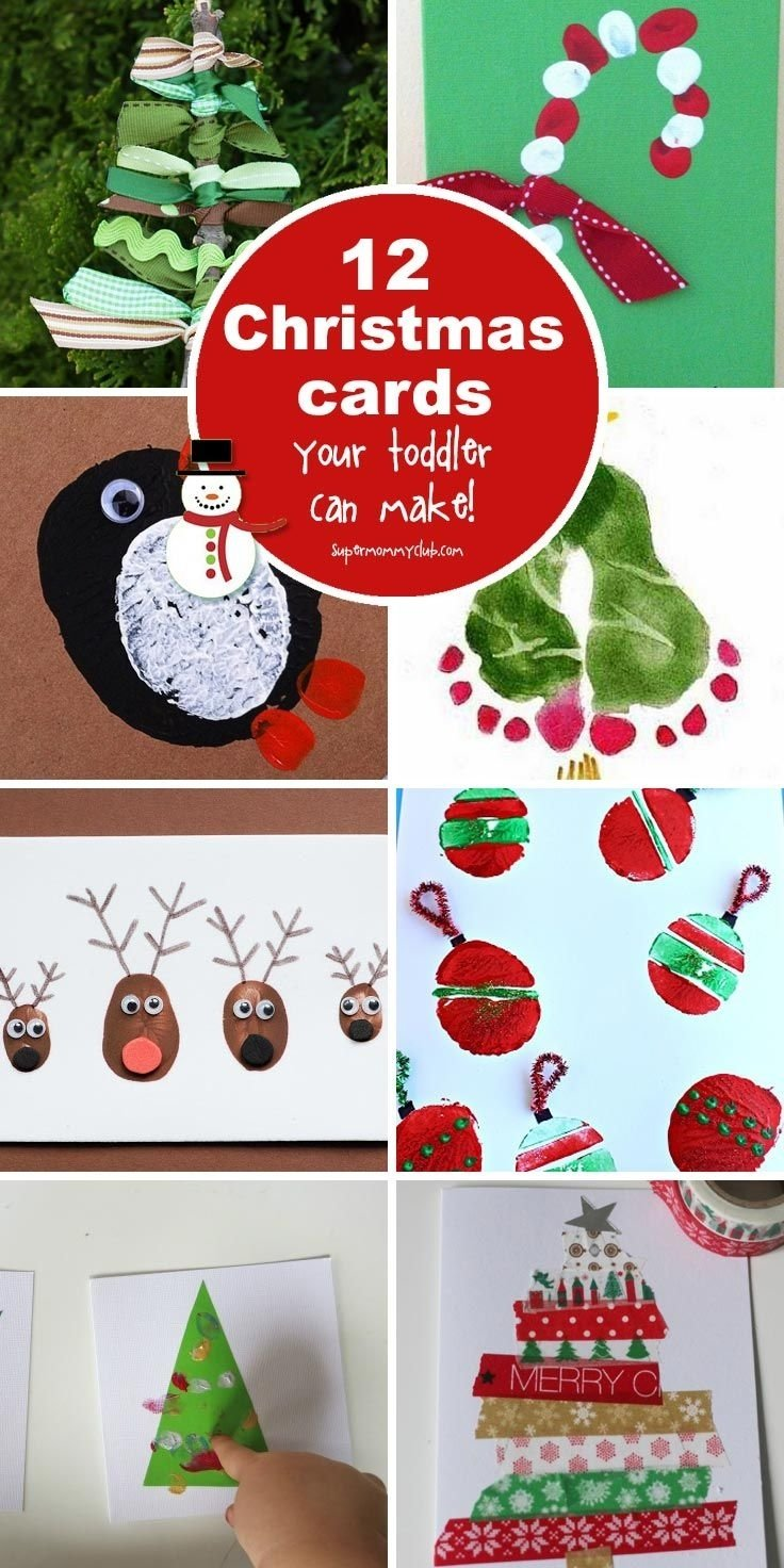 10 Most Popular Christmas Card Ideas With Kids 392 best simple crafts for kids images on pinterest crafts for 2020
