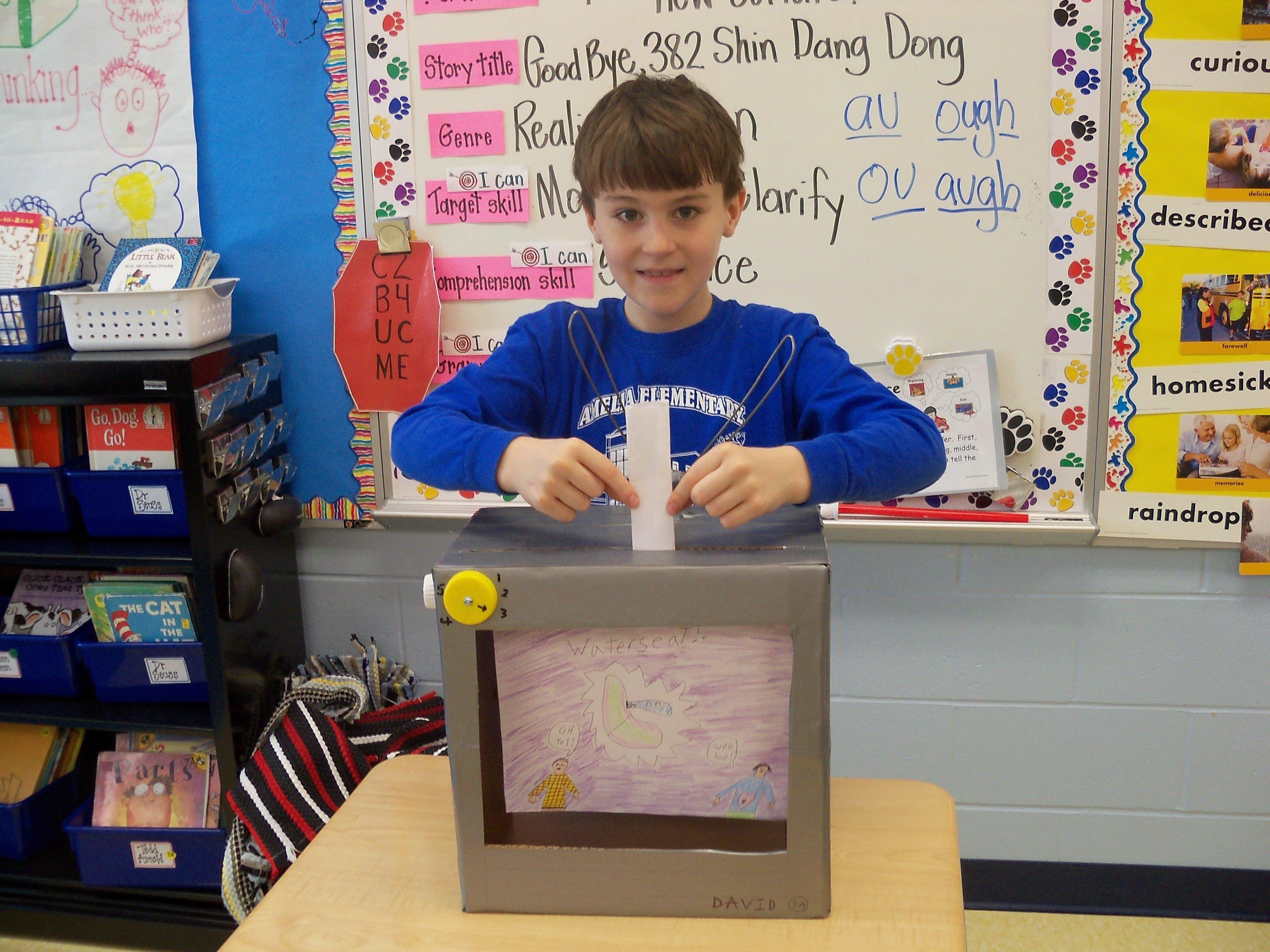 3rd grade inventors: | tiger tales- amelia elementary