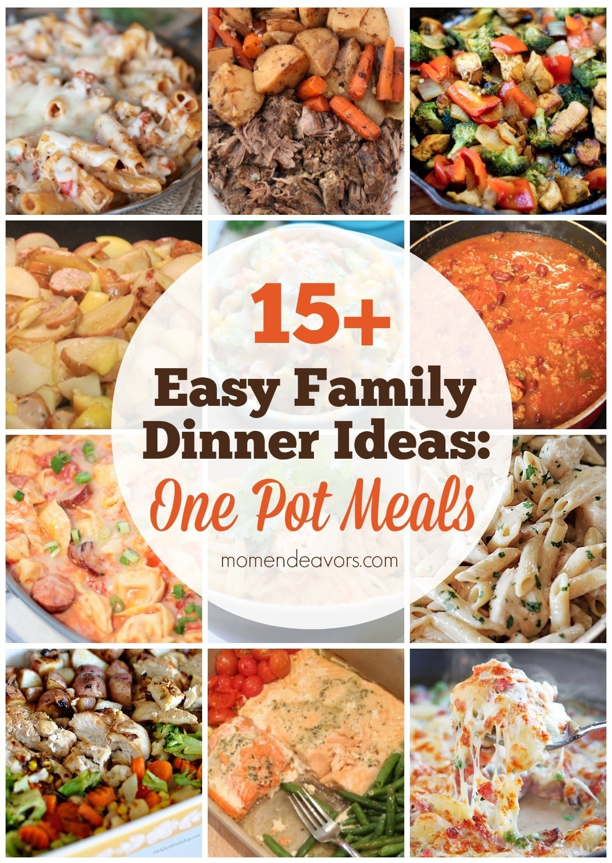 10 Fashionable Meal Ideas For Family Of 4 4 easy family dinners to serve your family this week 2020