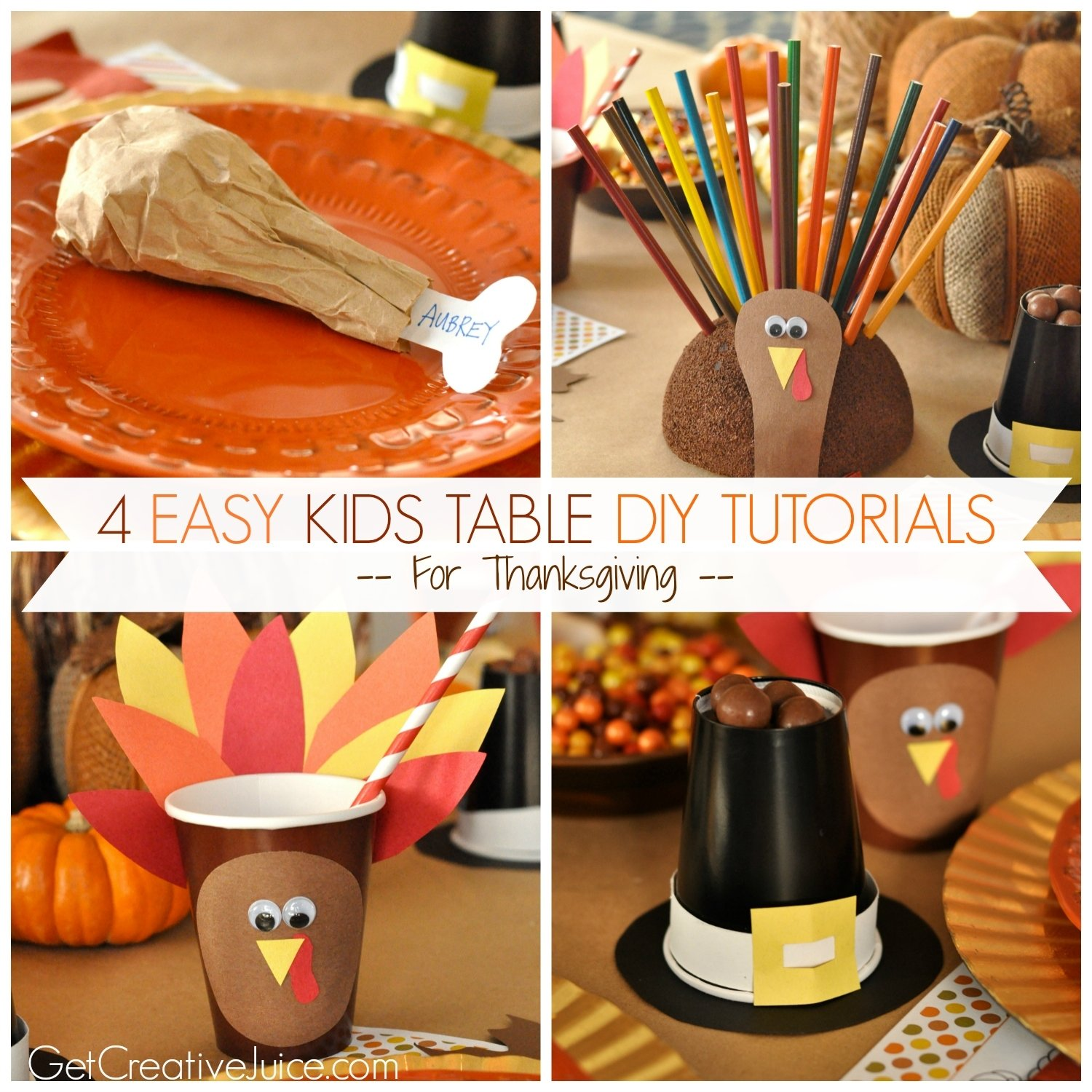 10 Unique Thanksgiving Craft Ideas For Adults 4 easy kids thanksgiving table craft tutorials creative juice 1 2021