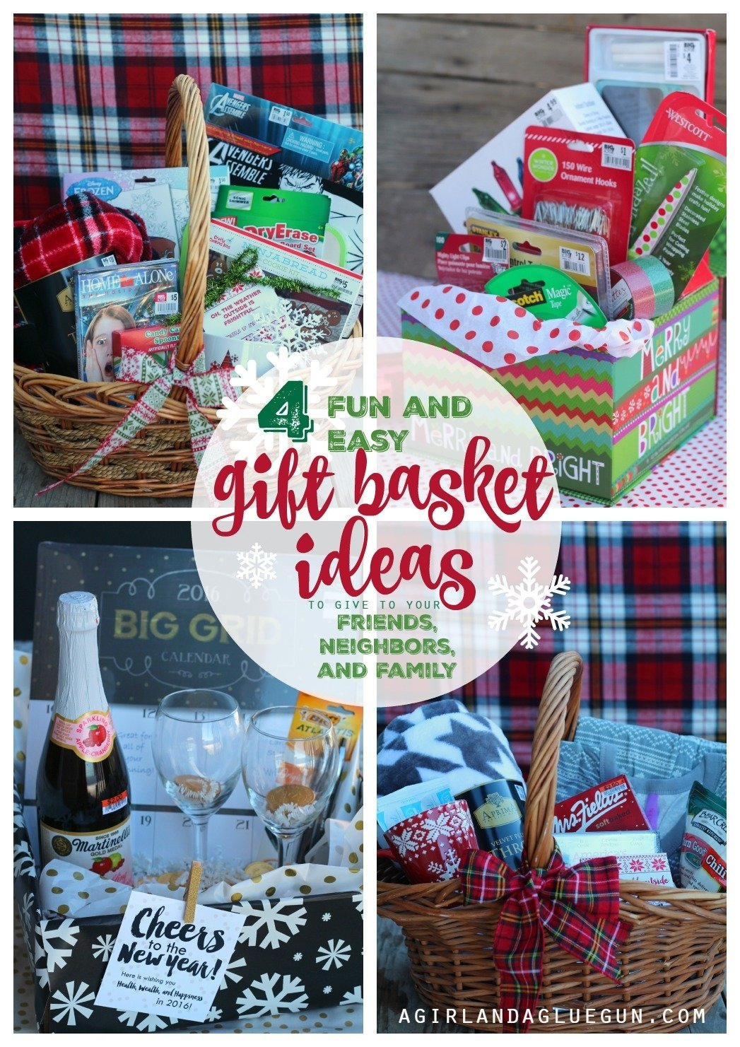 10 Awesome Family Gifts Ideas For Christmas 4 fun and easy gift basket ideas for christmas a girl and a glue gun