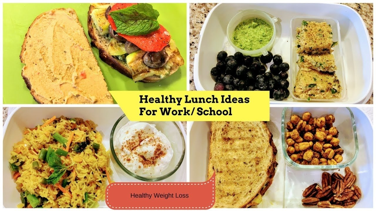 4 healthy indian lunch/breakfast ideas for school/ work (part 3) ll