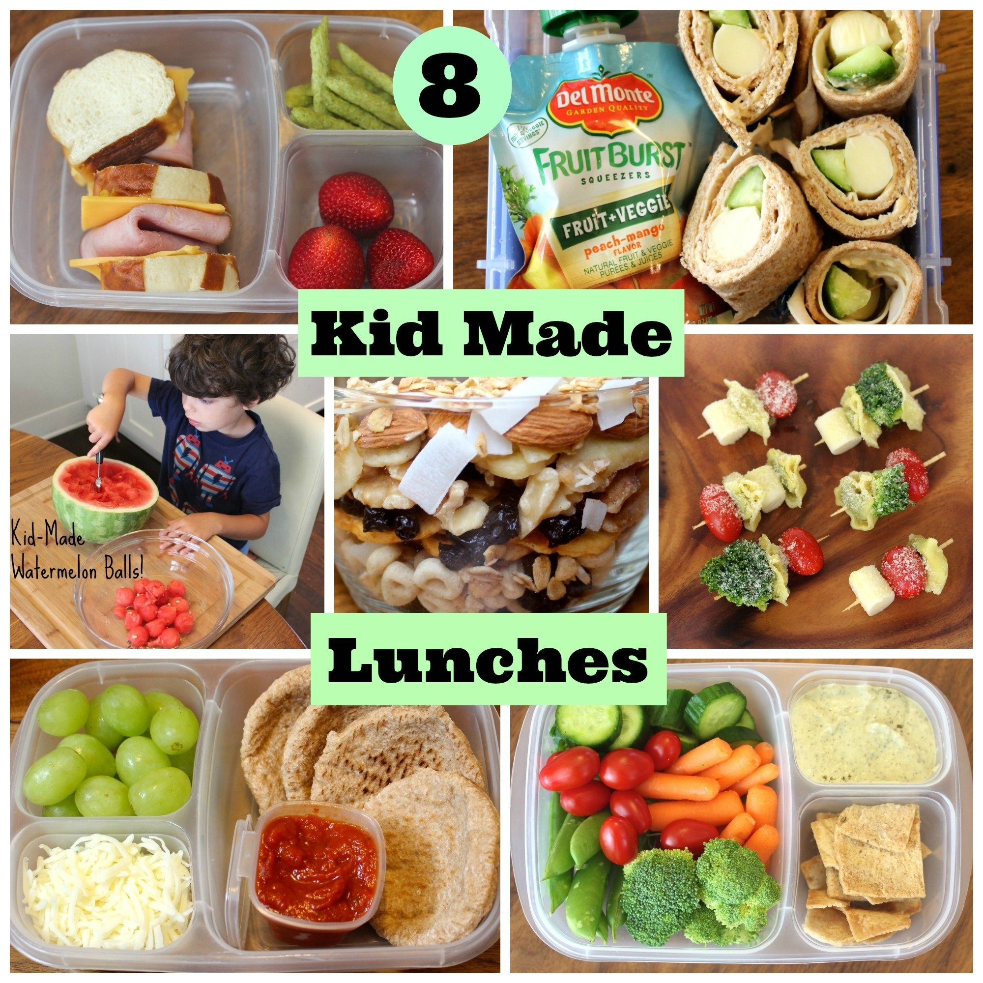 4 healthy school lunches your kids can make themselves | babble