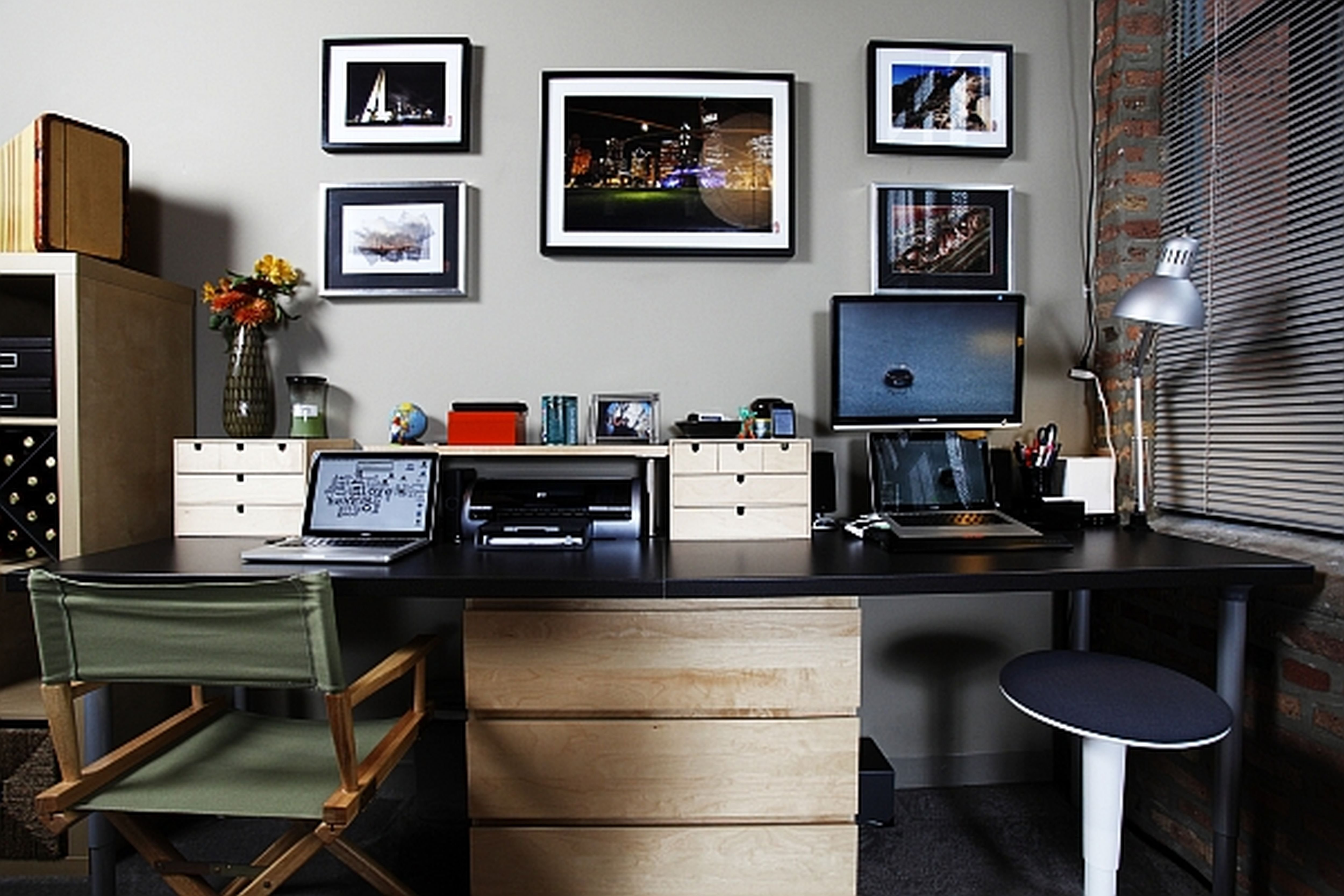 10 Attractive Office Decorating Ideas For Men 4 home office furniture modern and cool office furniture ideas on 1
