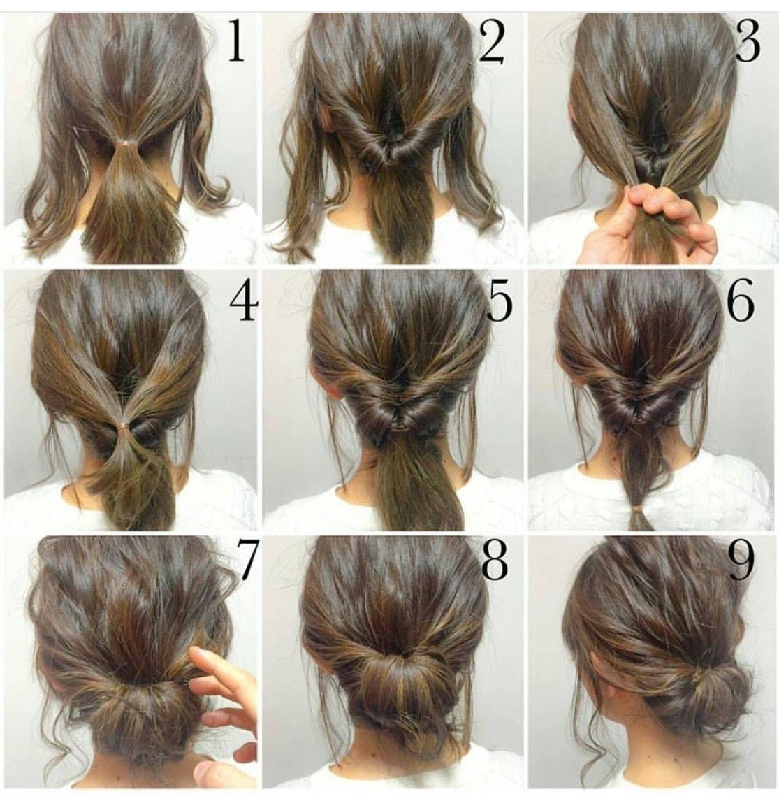 10 Stunning Easy Hair Ideas For Long Hair 4 messy updos for long hair hairz pinterest updos hair style 1 2021