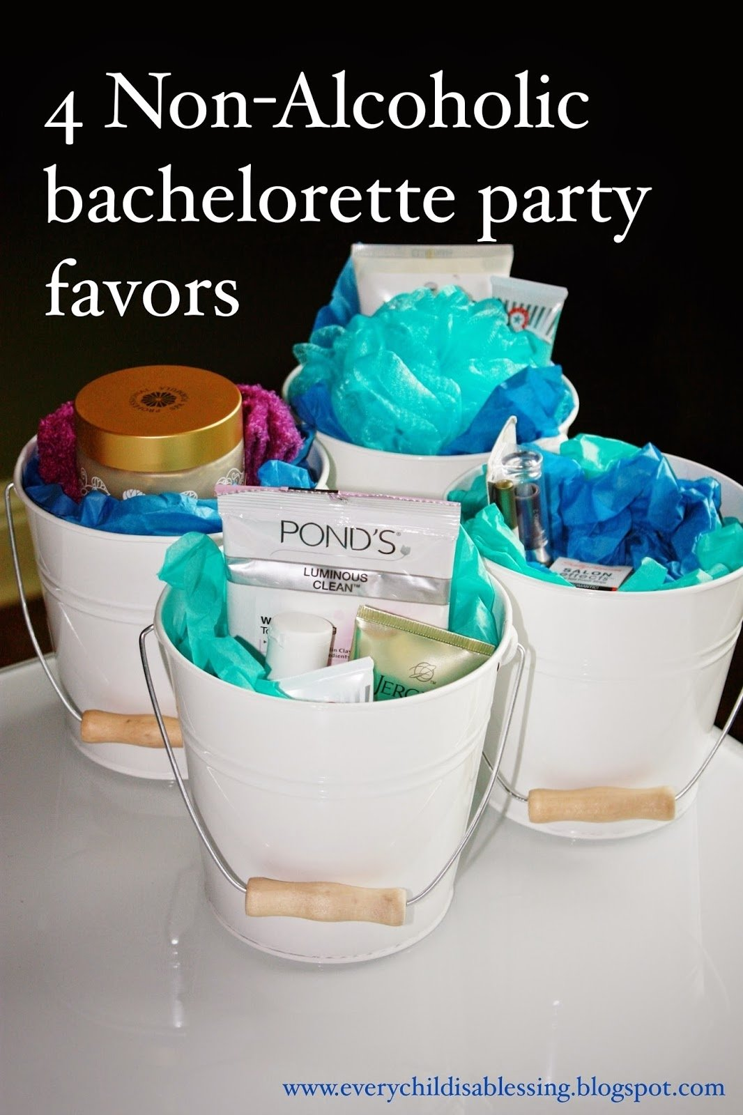 4 non-alcoholic bachelorette favors | every child is a blessing