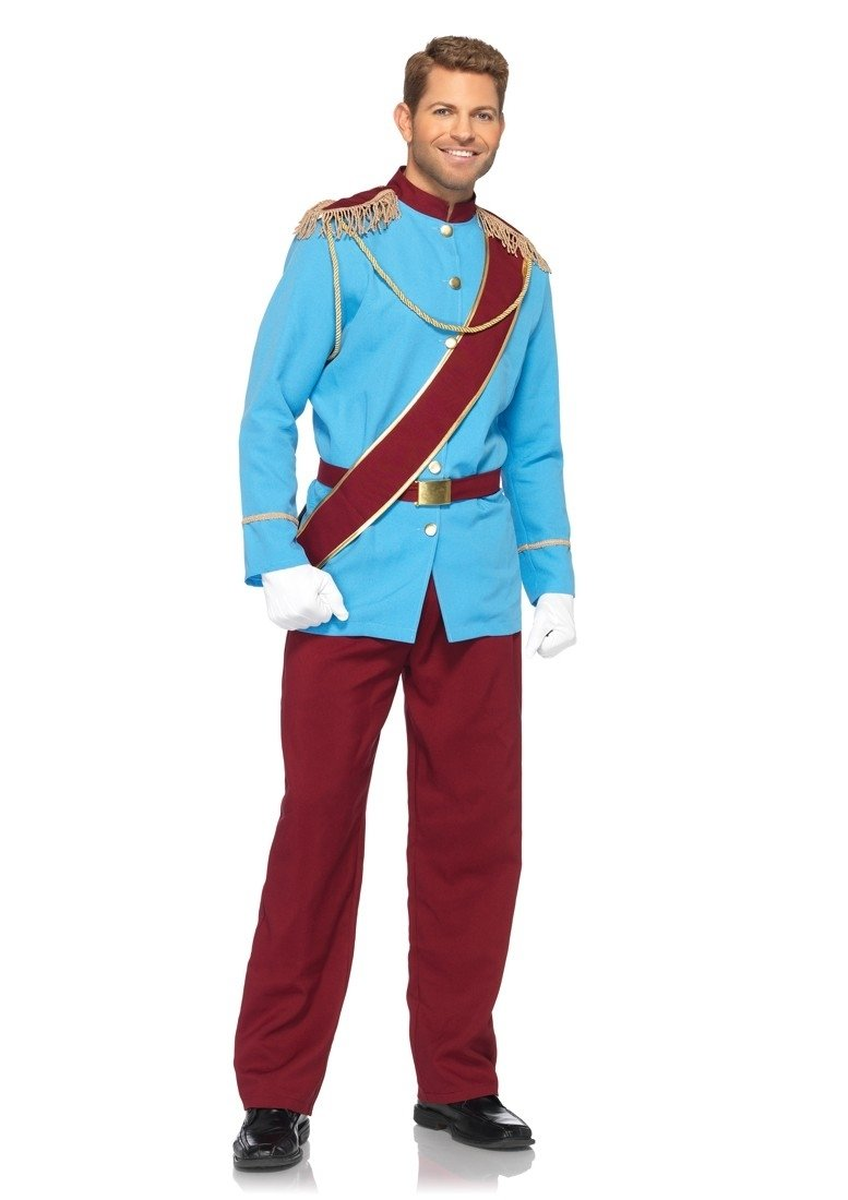 10 Beautiful Sexy Costume Ideas For Men 4 pc blue burgundy prince charming costume amiclubwear costume 2020