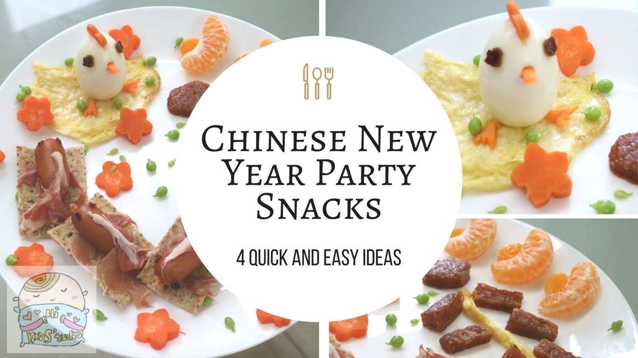 10 Lovely Chinese New Year Food Ideas 4 quick and easy chinese new year party snacks ideas food art diy 1