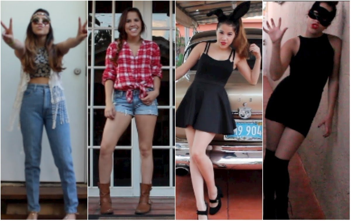 10 Great Quick Costume Ideas For Women 4 quick easy last minute halloween costume ideas youtube  sc 1 st  Unique Ideas 2018 & 10 Great Quick Costume Ideas For Women