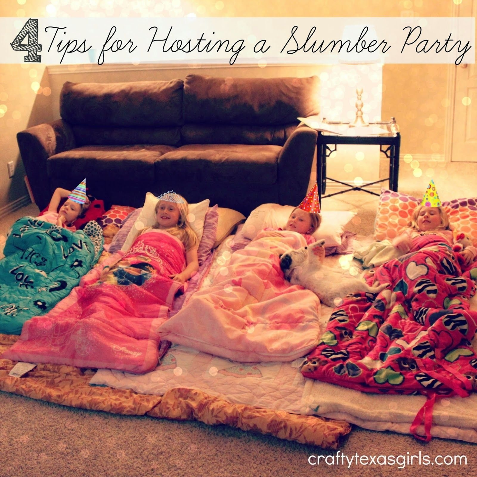 10 Most Recommended Ideas For A Slumber Party 4 tips for hosting a slumber party for the girls pinterest 2020