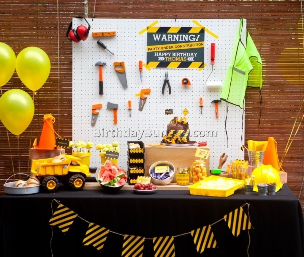 10 Most Recommended 1 Year Old Boy Birthday Party Ideas 4