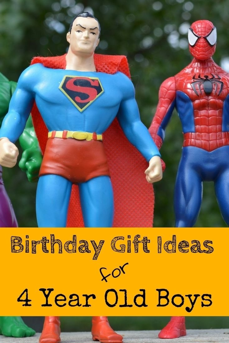 10 Unique Birthday Gift Ideas For 4 Year Old Boy 40 Best