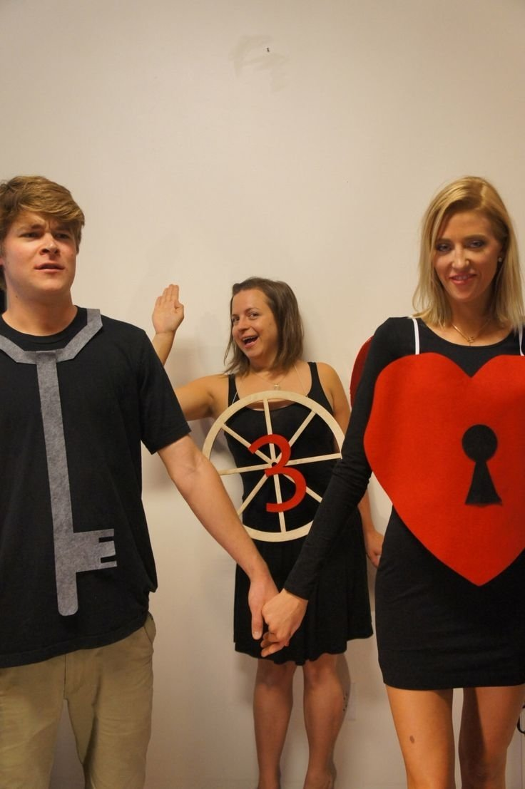 10 Attractive Costume Ideas For Three People 40 best halloween 2015 images on pinterest halloween 2015 etsy 1