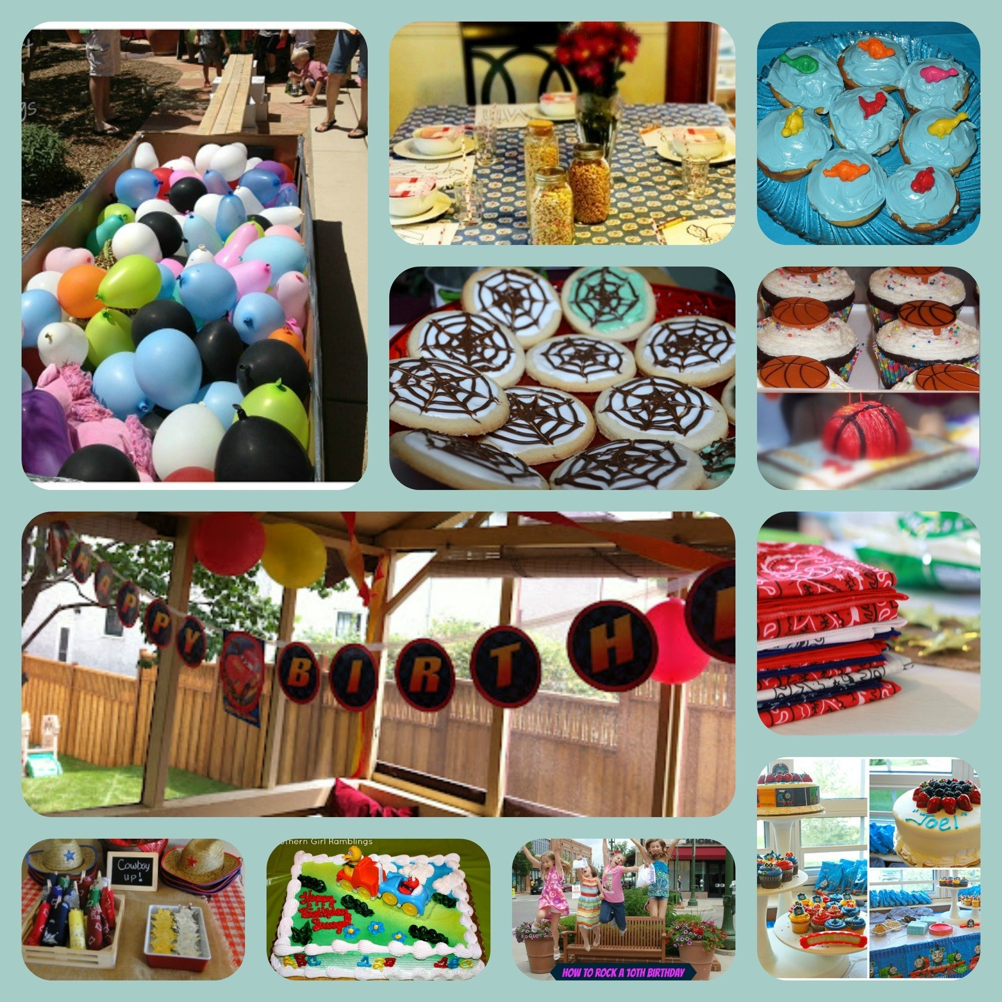 10 Awesome Ten Year Old Birthday Party Ideas 40 birthday party themes ideas tutorials and printables 2 2020