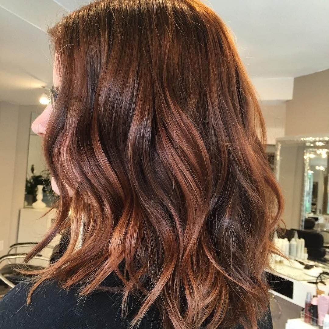 10 Lovable Brown And Red Hair Color Ideas