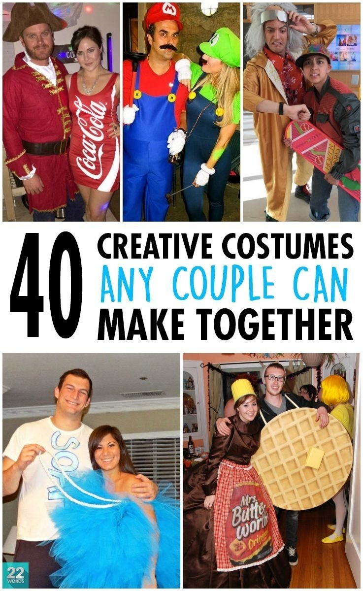 10 Attractive Clever Halloween Costume Ideas Couples 40 creative diy costumes any couple can pull off clever halloween 2 2020