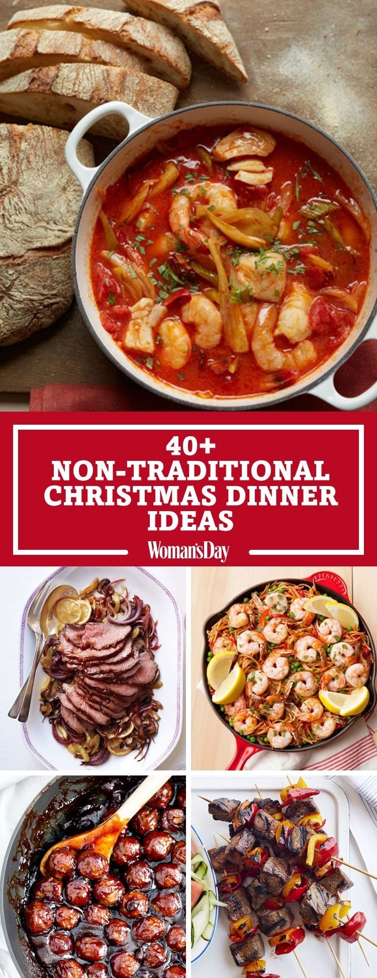 10 Stunning Christmas Dinner Ideas For A Crowd 40 easy christmas dinner ideas best recipes for christmas dinner 2020