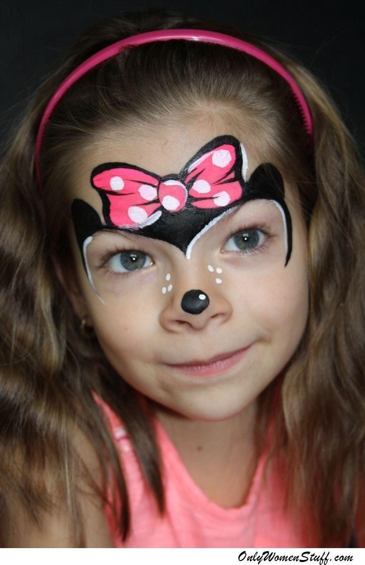 10 Lovely Face Paint Ideas For Girls 40 easy kids face painting ideas designs for little girls face 2020